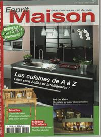 Lave émaillée - Cuisine - Décoration - Presse - Esprit Maison Février / Mars 2009