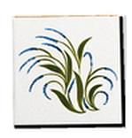 Hand made Decorated tiles - Salernes en Provence