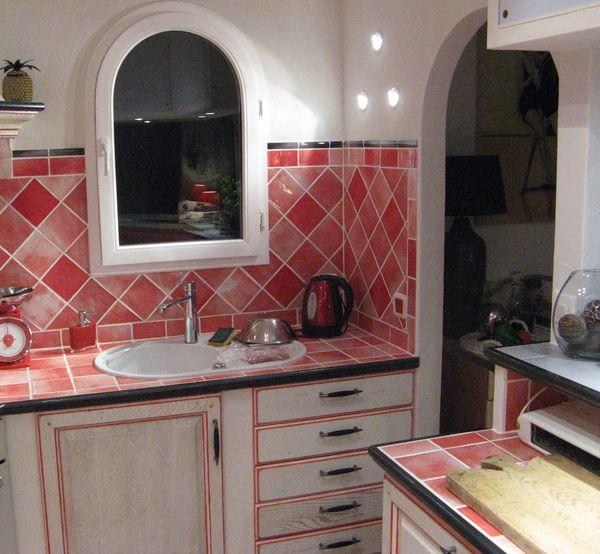 Awesome faillance cuisine en rouge photos for Faillance salle de bain