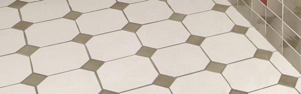 Enamelled floor tiles carrelages boutal for Carrelage cabochon