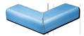 Tile - Décoration - 2 pieces mitered outside corner cap 6 x 4-ref 1011- Kitchen - Bathroom-Salernes-in-Provence