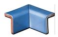 Tile - Décoration -2 piece mitered inside corner cap 4 x 6 (reverted fit) 1311- - Kitchen - Bathroom -Enamelled tiles-Salernes-in-Provence