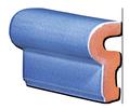 Tile - Décoration - Moulding- ref-5011-Kitchen-Bathroom - Enamelled tiles-Salernes-