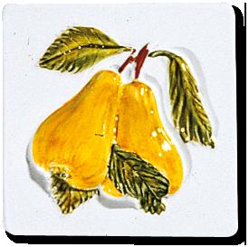 Carrelage - Décoration - Les fruits - Motif - Design - Faïence de Provence à Salernes