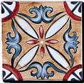 Carrelage - Décoration - Les médiévales- Motif - Design - Faïence de Provence à Salernes