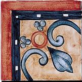 Carrelage - Décoration - Frise Les Médiévales - Motif - Design - Faïence de Provence à Salernes