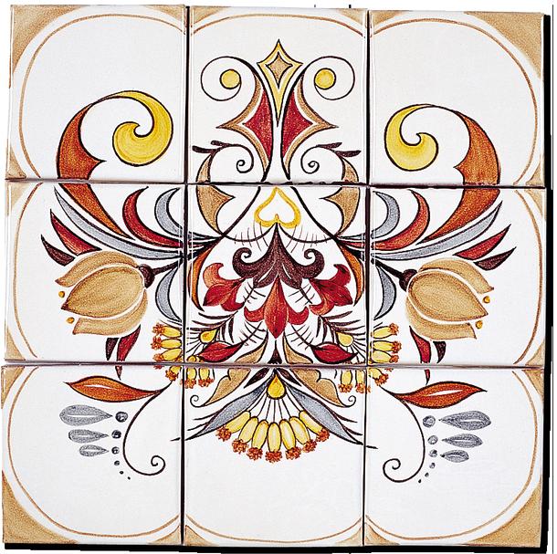 Carrelage d coration douce france fresque tableau for Carrelage fresque