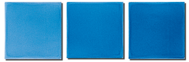 Carrelage 11 x 11 bleu saphir cuisine salle de bains for Faience salle de bain bleu